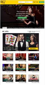 interwetten casino mobile screenshot